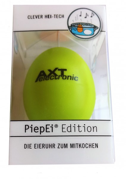 "The musical egg timer to cook with - ""Piep-Ei"" - 3 melodies, soft, medium, hard"