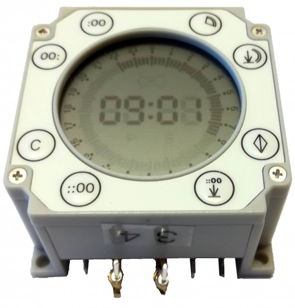 Timer BS-D - battery-powered digital timer (replacement) without case