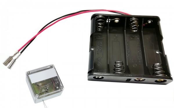 Batteriehalter 4xAA für Elektronischen Pförtner VSBb