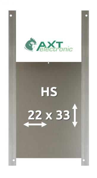 HS – Hühnertür  Größe S  für Elektronischen Pförtner