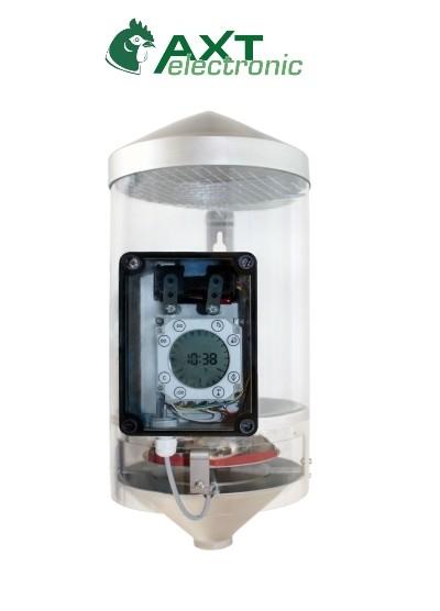 Futterautomat FA1, Elektronischer Futterautomat zum Füttern von Geflügel und Kleintieren